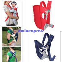 Wholesale Baby Carrier Sling Two Way Baby Carrier Sling Wrap Rider Infant Comfort Front Back backpack Buckles Adjustable