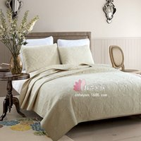 Wholesale Trapunta Matrimoniale Trapunta Matrimoniale Invernale Bedspread Cotton Solid Quilt