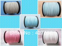 fabric korea - 3mm Wide Five Colors Korea Faux Suede Fabric Leather Cord String Rope Premium Cashmere Suede Necklace and Bracelet Cord DIY
