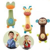 Wholesale New Arrival Soft Baby Kids Rattles Bebe Toys Model Plush Toy Boys Girls Educational BB Rattles