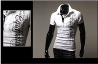 Cheap New Arrival Men's Autumn Spring Casual Slim Fit Polo Shirt T Shirts Short Sleeves Tee Top Mans Trendy Tee Lowest Prices Size M-XXL 2