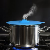 Wholesale Cooking Tools steam ship steaming Lid Silicone lid Cover For Pan