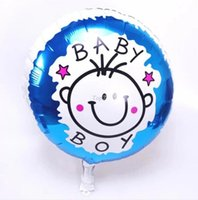 aluminum pics - Christmas gifts pics Cartoon Balloons inches aluminum balloons boy and girl Baby boy and girl cartoon balloon balloon
