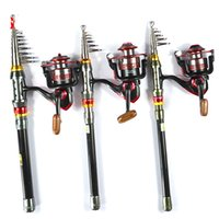 saltwater fish - Hot Sale Super Quality M Telescopic Fishing Rod Series Spinning Fishing Reel Set Kit Fishing Tackle