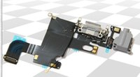 Wholesale For iPhone Dock Connector Charging Port Flex Cable for iPhone6 inch black white