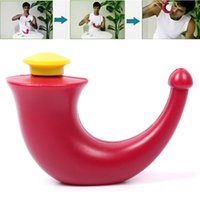 Wholesale New Yoga Nasal Plastic Neti Pot Sinu cleanse Clean Sinuses Wash System Naturally