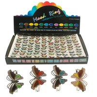 Cheap mood rings Best butterfly rings