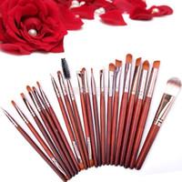 Wholesale 20pcs Makeup Brushes SET KIT Eyeshadow Eyebrow LIP Foundation Powder Tool Brush