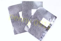 Wholesale soak off gel Aluminum Foil Paper with cutton For UV Gel Wraps Remove gel nail art products GEL LACK OFF box