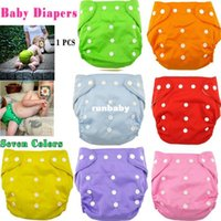 baby colth - Retail New Unisex Reusable Baby Diapers Adjustable Baby Infant Nappy Diaper Washable Colth Training Pants For Baby