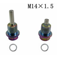 Wholesale Racing M14X1 NEO Chrome Magnetic Oil Tranny Drain Plug Package for Honda