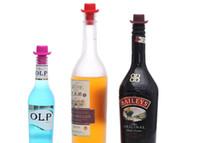 Wholesale 20pcs Creative Silicone Small Hat Wine Bottle Stopper Home Top Hat Wine Bottle Stopper KRJ15068