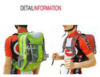 Wholesale Outdoor Backpack Super Strong Shoulders Cover Rain proof Cycling Backpack For Bike Multi function Space With Water Bag Helmet Headset