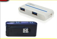 usb 3.0 hub - 1pc Retail Super High Speed USB HUB ports External Hub Adapter For PC Laptop with retail package