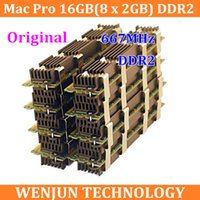 Wholesale Original NEW for Mac Pro Memory GB x GB DDR2 FB Dimm GB DDR2667 DDR2 PC2 for macpro order lt no t