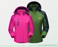 Wholesale 2016 Hot Sale Men Plus Size XL XL Warm Cotton Couple Camping Tops Hiking Jackets MTB Sportswear Suit Thermal Fleece Motorcycle Clothing