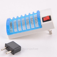 Wholesale LED Socket Electric Mosquito Fly Bug Insect Trap Night Lamp Killer Zapper FYMPJ400 Y5