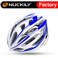Wholesale Nuckily colorful bicycle comfortable potective helmet cycling safety helmet Air perspiration bicycle helmet with high quality