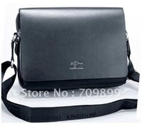 Wholesale Authentic Kangaroo Large Men s Leather Shoulder Bag Messenger brief case M002