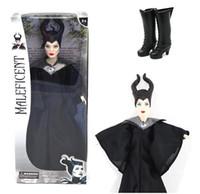 Juguetes clásicos Baratos-Muñeca Maleficent de la venta al por mayor-Maleficent libre 11.25 pulgadas Anime Clásico de las muñecas de la colección de los toysedos de las muchachas muñeca
