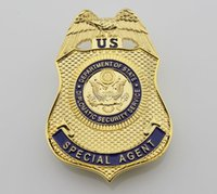 antique and collectible - The U S Department of State Bureau of diplomatic security agents badge badge of speed and passion