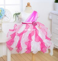 baby costumes trade - Flower girl dress girls dress skirt princess dress baby princess skirt foreign trade a generation of fat children s costumes