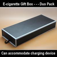 Wholesale E cigarette Gift Box Duo Can accommodate charging device Pack E cigarette accessories Retail