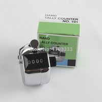 Wholesale 480pc Metalic Digits Number Clicker Hand Tally Counter for Golf