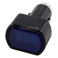 Wholesale New Digital LCD Display Cigarette Lighter Voltage Panel Meter Monitor Car Volt Voltmeter L