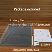 Wholesale Privacy Filter For mm mm Anti peeping Screen Protector WITHOUT Glue For Computer PC Laptop LCD pc a