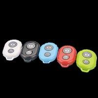Wholesale 1 IOS Andriod Selfie Stick Shutter Selfie Monopod Wireless Bluetooth Remote Control Universal