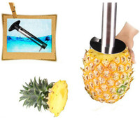 pineapple peeler - Easy Kitchen Pineapple slicer Corer peeler cutter knife stainless steel kitchen fruit tools cooking cutter tools