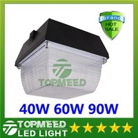 Wholesale CE UL Super Bright Gas Station Led Canopy Lights W W W AC V Led Floodlights Cool white light lm lm lm X10