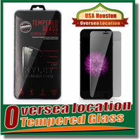 Wholesale For Galaxy S6 edge Clear Tempered Glass Screen Protector Film Iphone Iphone Plus mm Treated Glass for iPhone galaxy S5 Retail box
