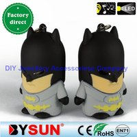 bat pendant light - DHL FREE Bat Man Key Chain Movie Theme Metal Can Sound And Light Keychains Batman Key Chains Comic Figure Pendant Christmas Present