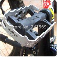 aluminum tread - New Cycling Road MTB Bike Bicycle Aluminum alloy silver Pedals quot Axle Foot Tread