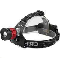 Wholesale Outdoors Cycling Headlights Zoom Waterproof Riding Headlight Rechargeable LED Long Shots Light Flashlight Sell Like Hot Cakes