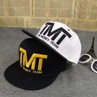 Wholesale 30PCS HHA495 New arrival Fashion Brand hat with letter quot TMT quot Baseball Cap Hip hop Hats Courtside Snapback For Men Women