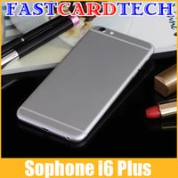 sophone - Sophone i6 Plus Touch ID MTK6582 Quad Core inch HD IPS ARC Screen Android Phone ISO8 Theme