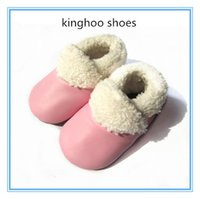 Wholesale soft sole colorful winer short baby boots baby moccasin