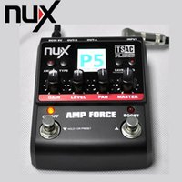 amp modeling - 3 band EQ Color Screen Electric Guitar Amplifier Modeling Amplifier Simulator Models NUX Guitar AMP Force order lt no track