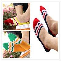 best travel socks - Hot Salw Best seller Four seasons Men s Silicone Sport Ankle Wave Striped Boat Antislip Invisibility Socks Men short outdoor travel socks