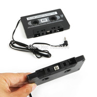 Wholesale car dvd New FOR MP3 CD MD DVD For Clear Sound Music Car Cassette Tape Adapter