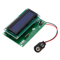 Wholesale Multi functional Transistor Tester Capacitance Resistor Inductance MeterMOSFET NPN PNP Detector LCD Backlight DidoeTriode Meter