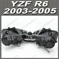 headlight assembly - Headlight Lamp Assembly For Yamaha YZF R6 YZF R6 YZFR6 LENS
