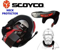 Wholesale 2015 Newest Motocross Neck Guard Motorcycle Neck Protector Long Distance Cycling Neck Brace Protective Gear Scoyco N02 A5