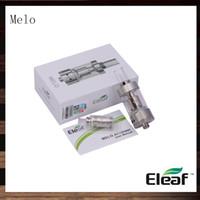 Mejores tanques sub ohm Baratos-Ismoka Eleaf Melo Atomizador de 3,5 ml 0.5 ohm Melo Sub Ohm Tanque de Flujo de aire Ajustable Clearomizer Mejor Partido iStick 30W 100% Original