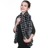 argyle scarf - Hot Sale Real Knitted Mink Fur Cape Women New Mink Fur Shawl Fashion Natural Fur Scarf