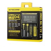 Wholesale Nitecore D4 Universal Charger SYSMAX Version for CR123A Li ion NiMH Battery in Intellicharger dhl free