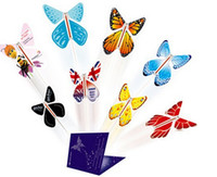 magic cards - 2015 magic surprising flying butterfly especially suit card or wedding invitation card